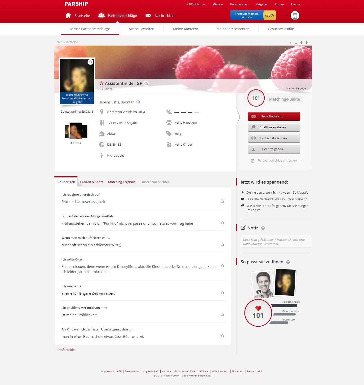 Parship Profil Löschen