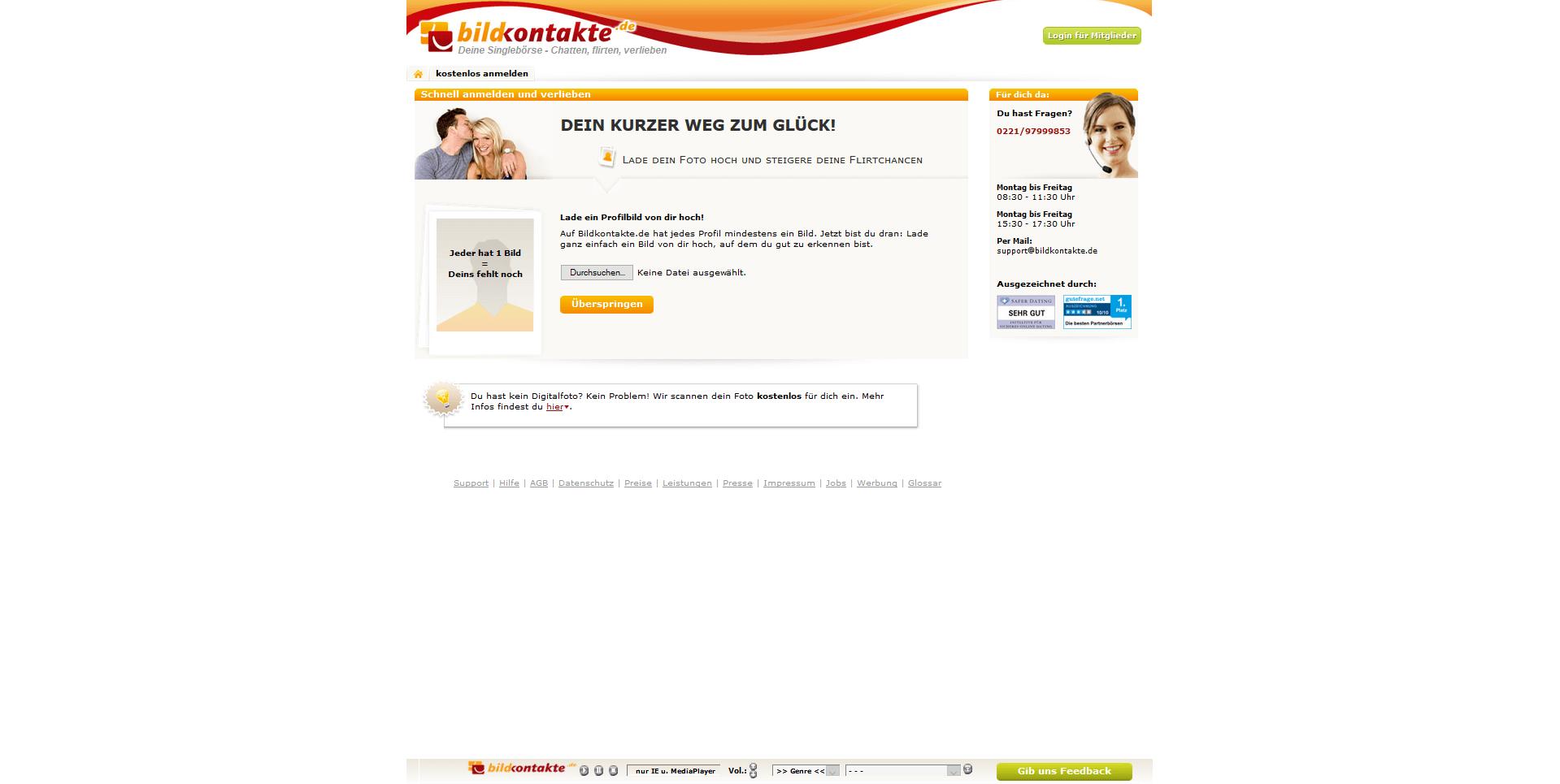 Vergleich von Seniorendating-Seiten
